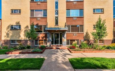 Denver Country Club Condo/Townhouse Active: 10 North Ogden Street #1