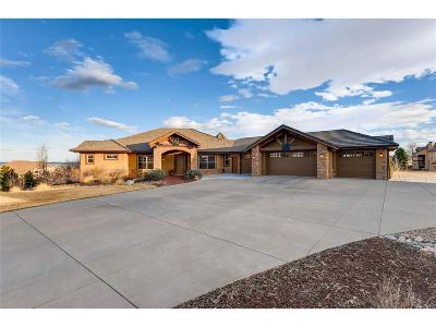 Castle Rock Single Family Home Under Contract: 6571 Tremolite Drive