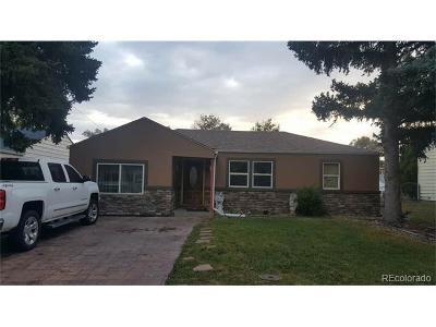 Aurora Single Family Home Active: 1130 Galena Street