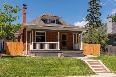 Denver Single Family Home Active: 3267 Stuart Street