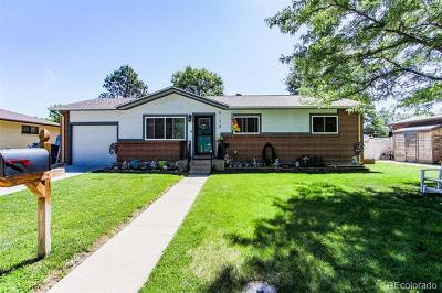 Arvada Single Family Home Active: 6128 Iris Way