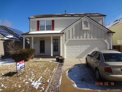Denver Single Family Home Active: 4564 Nepal Street