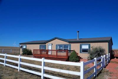 Calhan Single Family Home Active: 29360 West Hanisch Road