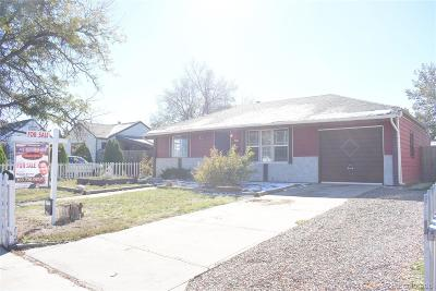 Aurora Single Family Home Active: 11192 East 7th Avenue