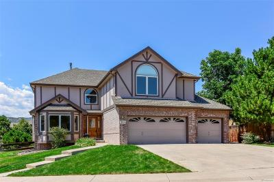 Littleton Single Family Home Under Contract: 6609 South Oak Circle