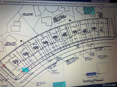 Westminster Residential Lots & Land Active: 10400 North Eliot Street