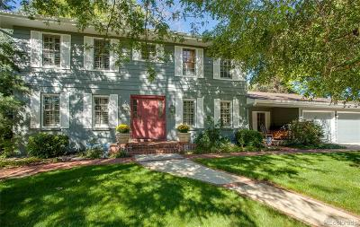 Cherry Hills Village Single Family Home Under Contract: 4021 South Bellaire Street
