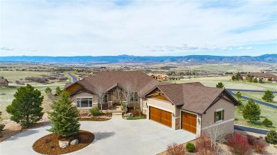 Sedalia Single Family Home Under Contract: 3000 Elk Canyon Circle