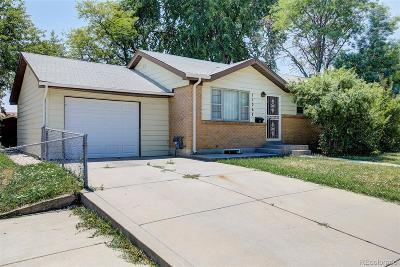 Northglenn Single Family Home Active: 11267 Ogden Drive
