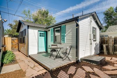 Denver Single Family Home Active: 4181 Zenobia Street