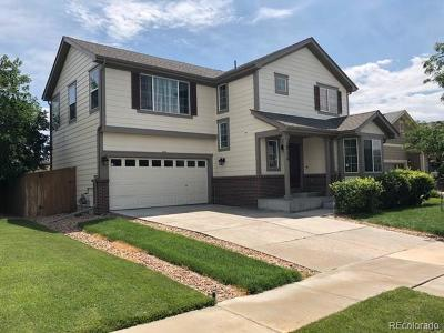 Commerce City Single Family Home Under Contract: 10776 Kalispell Street