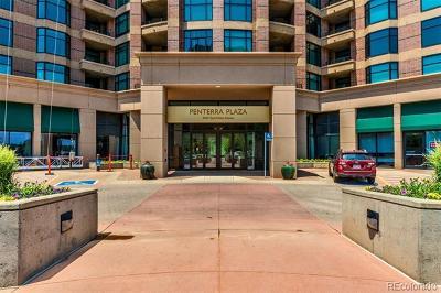 Denver Condo/Townhouse Active: 8100 East Union Avenue #204