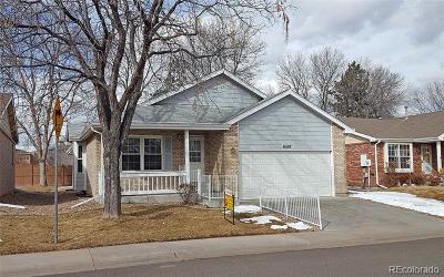 Arvada Single Family Home Active: 6497 Pierson Street