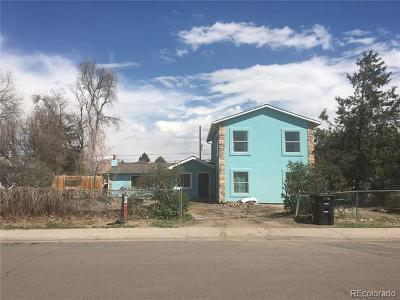 Denver Single Family Home Active: 946 South Leyden Street