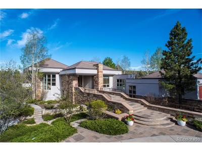 Larkspur CO Single Family Home Active: $3,995,000