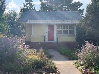 Single Family Home Active: 4441 Meade Street
