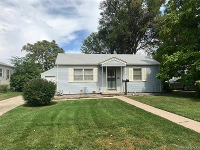 Denver Single Family Home Active: 4695 East Amherst Avenue