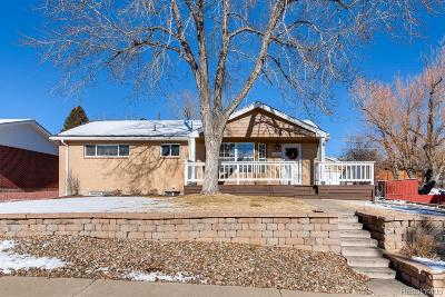 Northglenn Single Family Home Under Contract: 10820 Wanda Lane