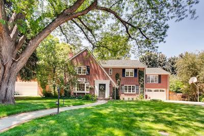 Denver Single Family Home Active: 435 Ivanhoe Street