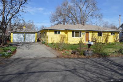 Wheat Ridge Single Family Home Active: 4435 Pierson Street