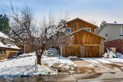 Lone Tree Single Family Home Under Contract: 8140 Lodgepole Trail