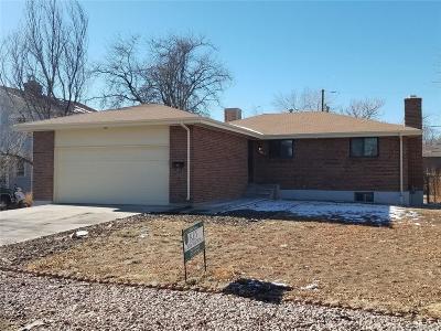 Aurora Single Family Home Under Contract: 2037 Kingston Street