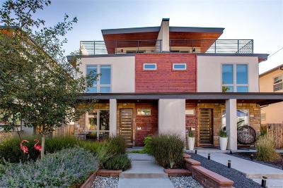 Denver Condo/Townhouse Active: 4158 Vrain Street