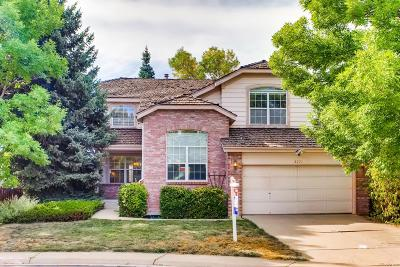 Littleton Single Family Home Under Contract: 8271 South Teller Way