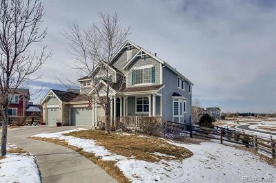 Commerce City Single Family Home Active: 16437 East 117th Court