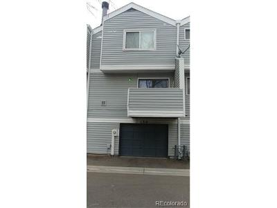 Aurora Condo/Townhouse Active: 134 South Nome Street