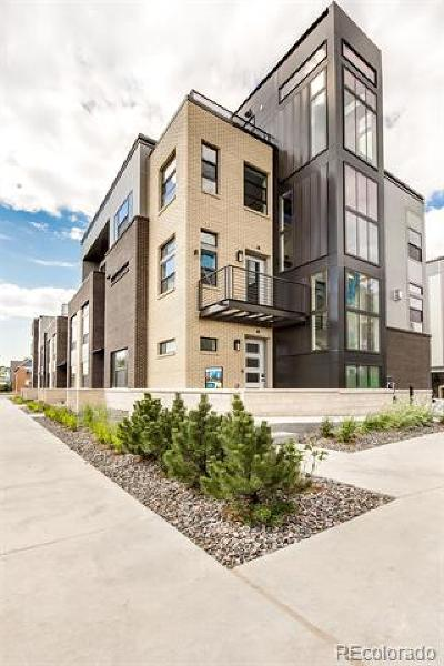 Denver Condo/Townhouse Active: 4062 West 16th Avenue