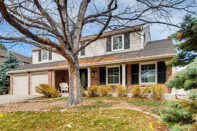 Centennial Single Family Home Active: 7107 South Glencoe Circle