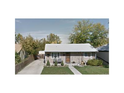 Commerce City Single Family Home Under Contract: 5401 East 65th Avenue
