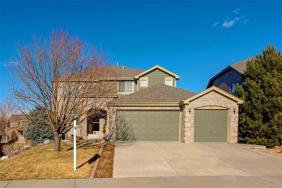 Castle Rock Single Family Home Active: 1875 Dolomite Way