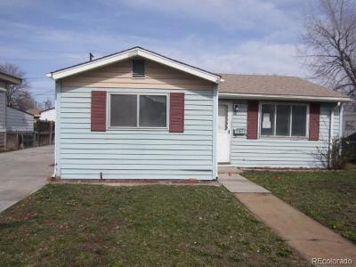 Commerce City Single Family Home Under Contract: 6656 Birch Street