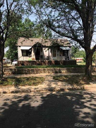 Denver CO Single Family Home Active: $475,000