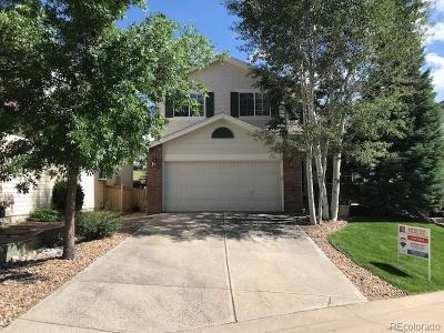 Castle Rock Single Family Home Under Contract: 3100 Masters Point