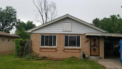 Aurora Single Family Home Active: 2208 Kenton Street