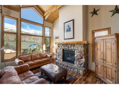 Steamboat Springs Condo/Townhouse Under Contract: 2507 Evergreen Lane #7
