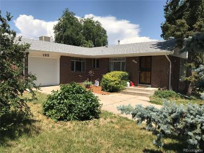 Broomfield County Single Family Home Active: 195 Kohl Street