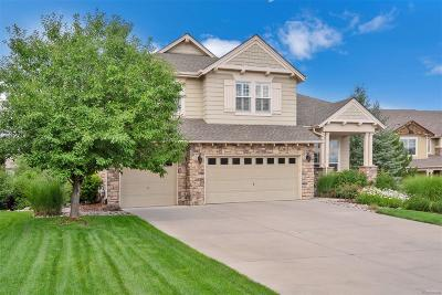 Castle Rock Single Family Home Under Contract: 1655 Ridgetrail Court