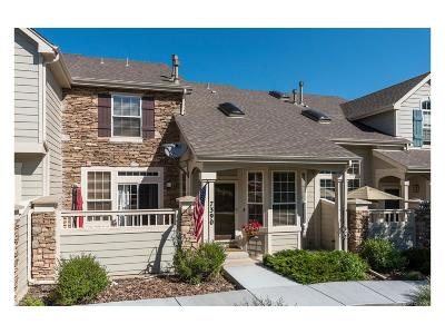 Castle Pines Condo/Townhouse Sold: 7390 Norfolk Place
