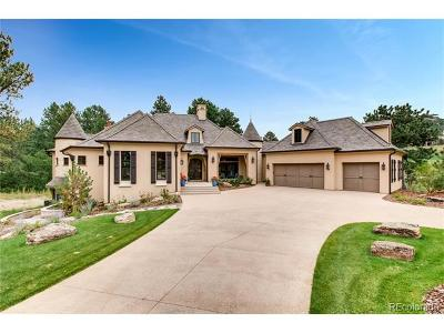 Castle Rock CO Single Family Home Active: $2,699,999