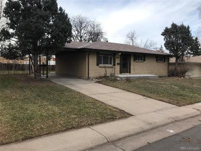 Centennial Single Family Home Under Contract: 6519 South Lincoln Street