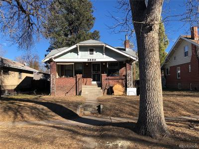 Denver Single Family Home Active: 3886 Meade Street