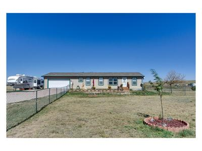 Kiowa CO Single Family Home Active: $399,000