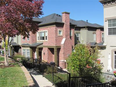 Highlands Ranch, Lone Tree Condo/Townhouse Under Contract: 501 Elmhurst Way #A