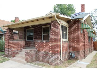 Denver Single Family Home Under Contract: 4574 Clay Street