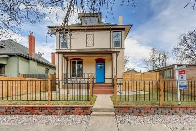 Denver Single Family Home Active: 2810 North Race Street