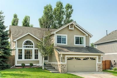 Castle Rock Single Family Home Under Contract: 5950 South Rock Creek Drive